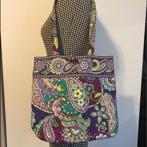 Vera Bradley Tote in Heather